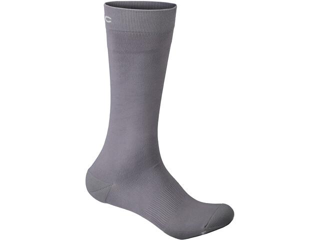 POC Essential Full Length Socks sylvanite grey